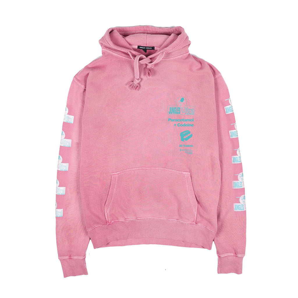 PAIN RELIEF HOODIE DUSTY ROSE