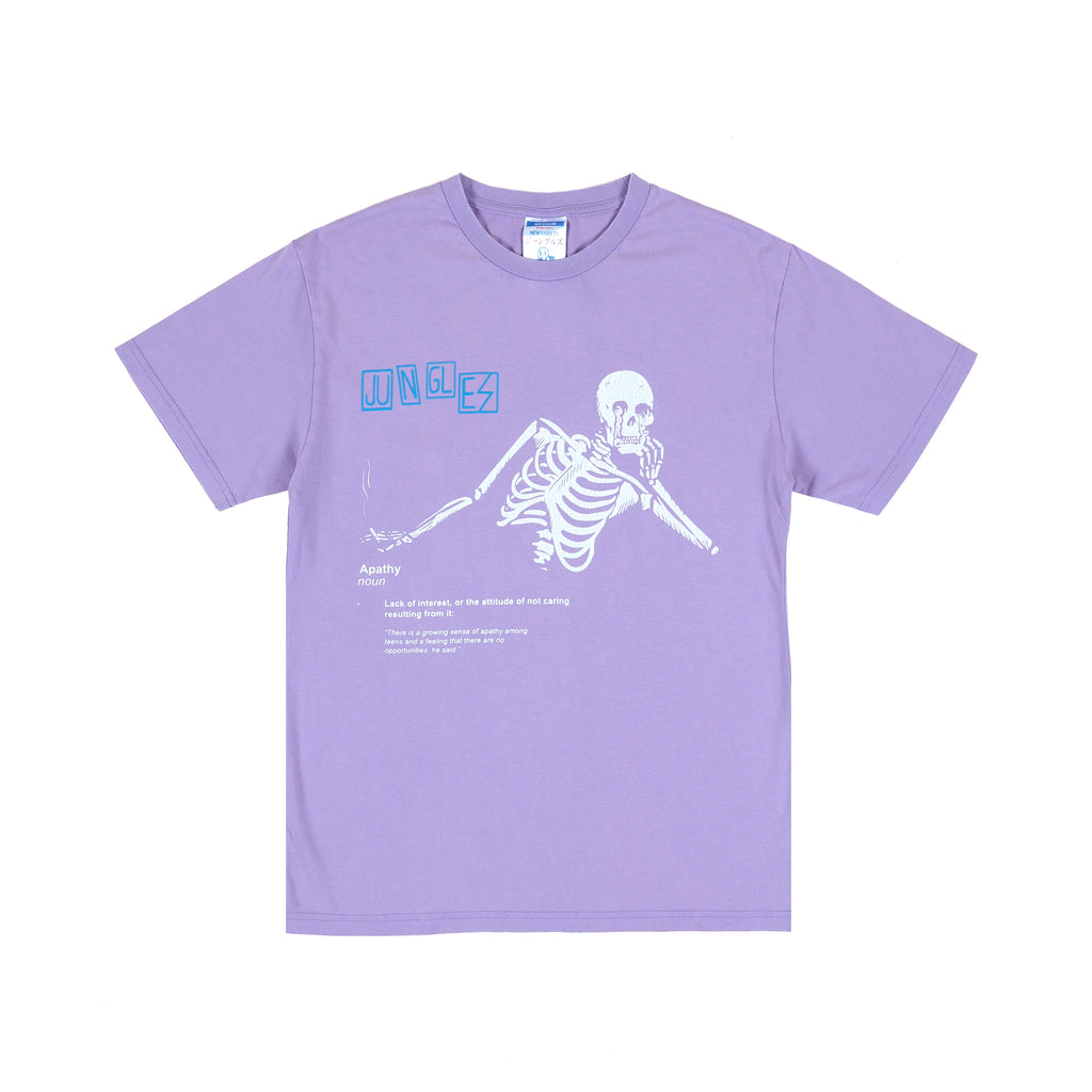 Apathy ss tee dusty purple