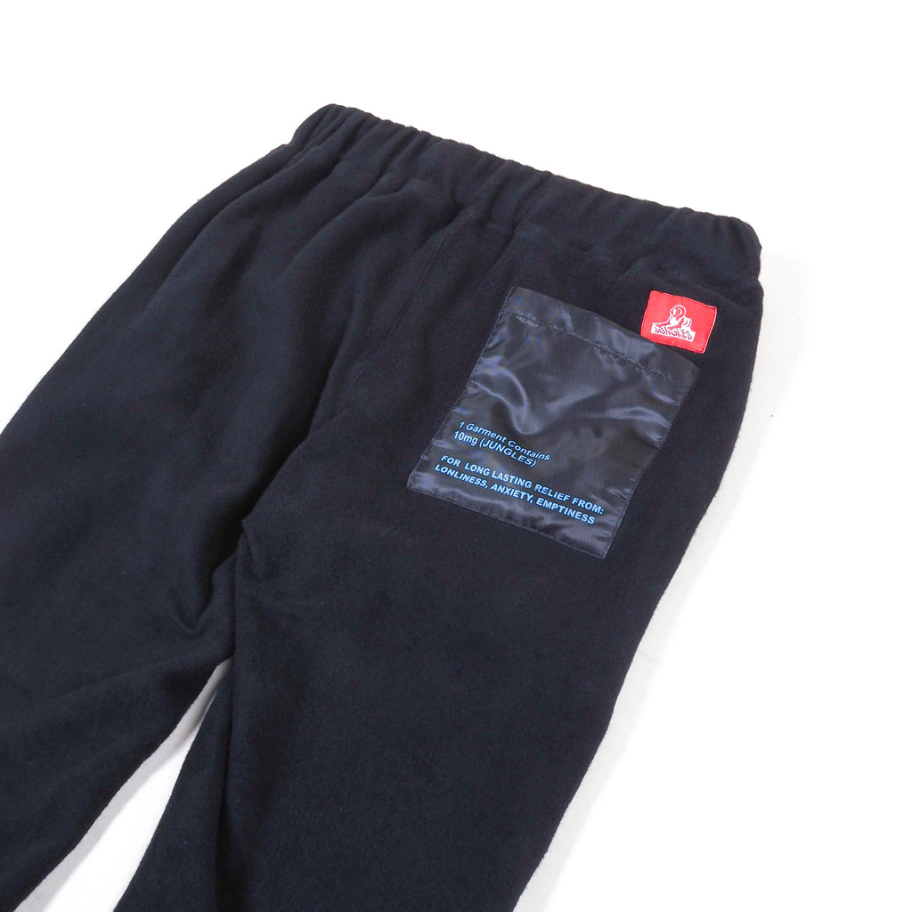 Reverse fleece Pharmaceutical pants