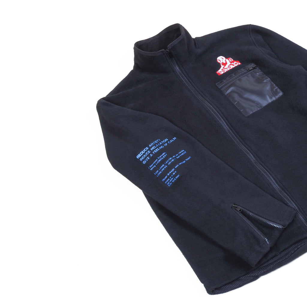 Reverse fleece Pharmaceutical jacket