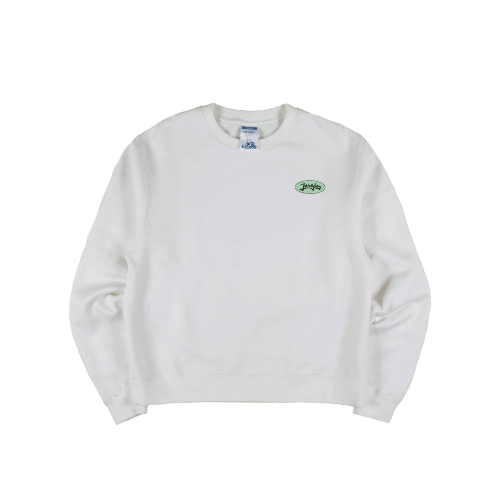 Jam logo Ivory sweater