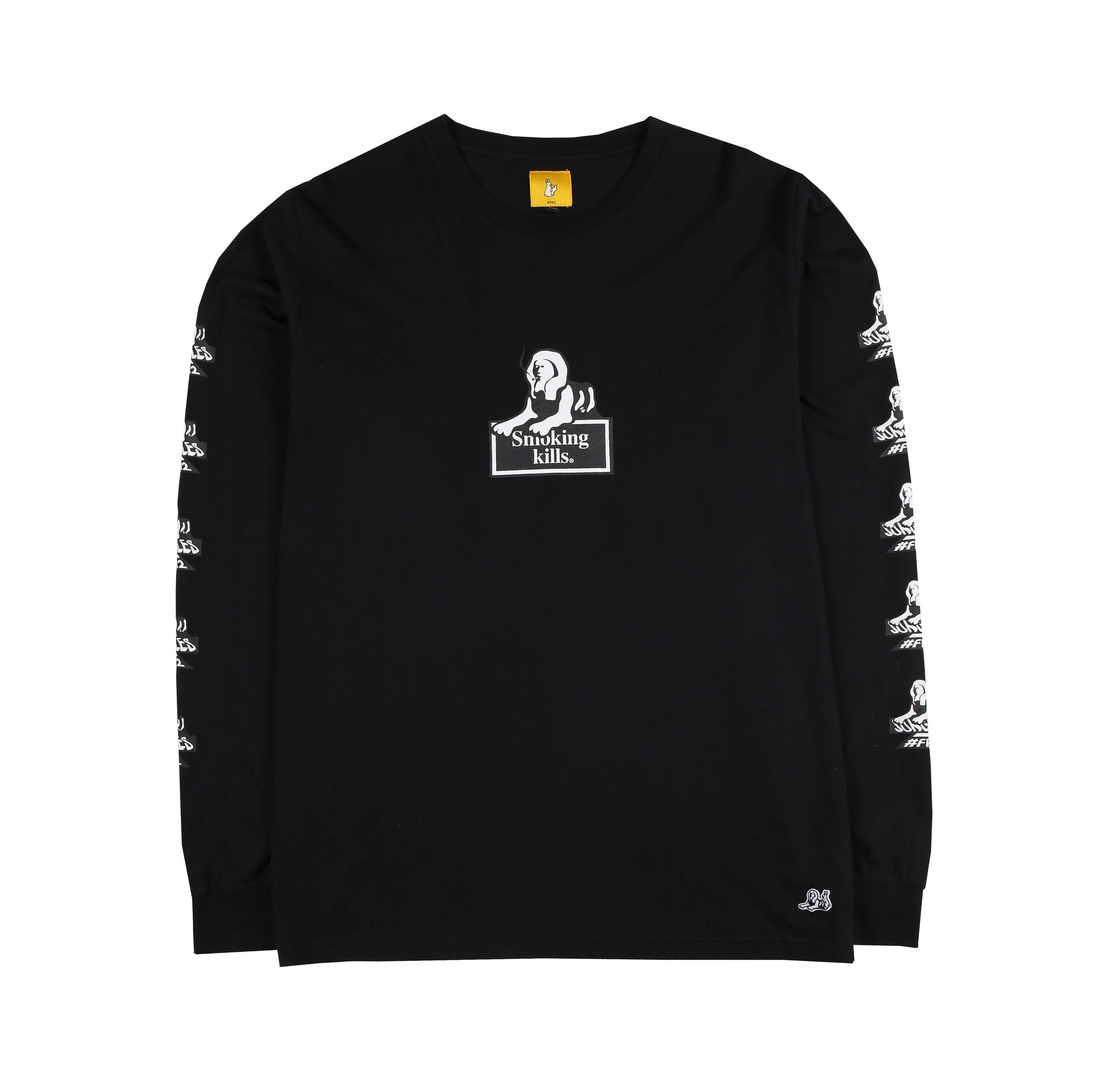 Jungles/Fxxking Rabbits Smoking kills LS tee black