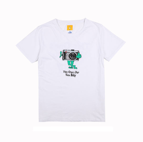 Jungles/Fxxking Rabbits - This ones for you! ss tee white