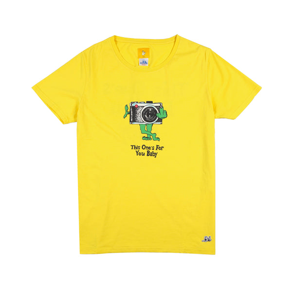 Jungles/Fxxking Rabbits - This ones for you! ss tee yellow