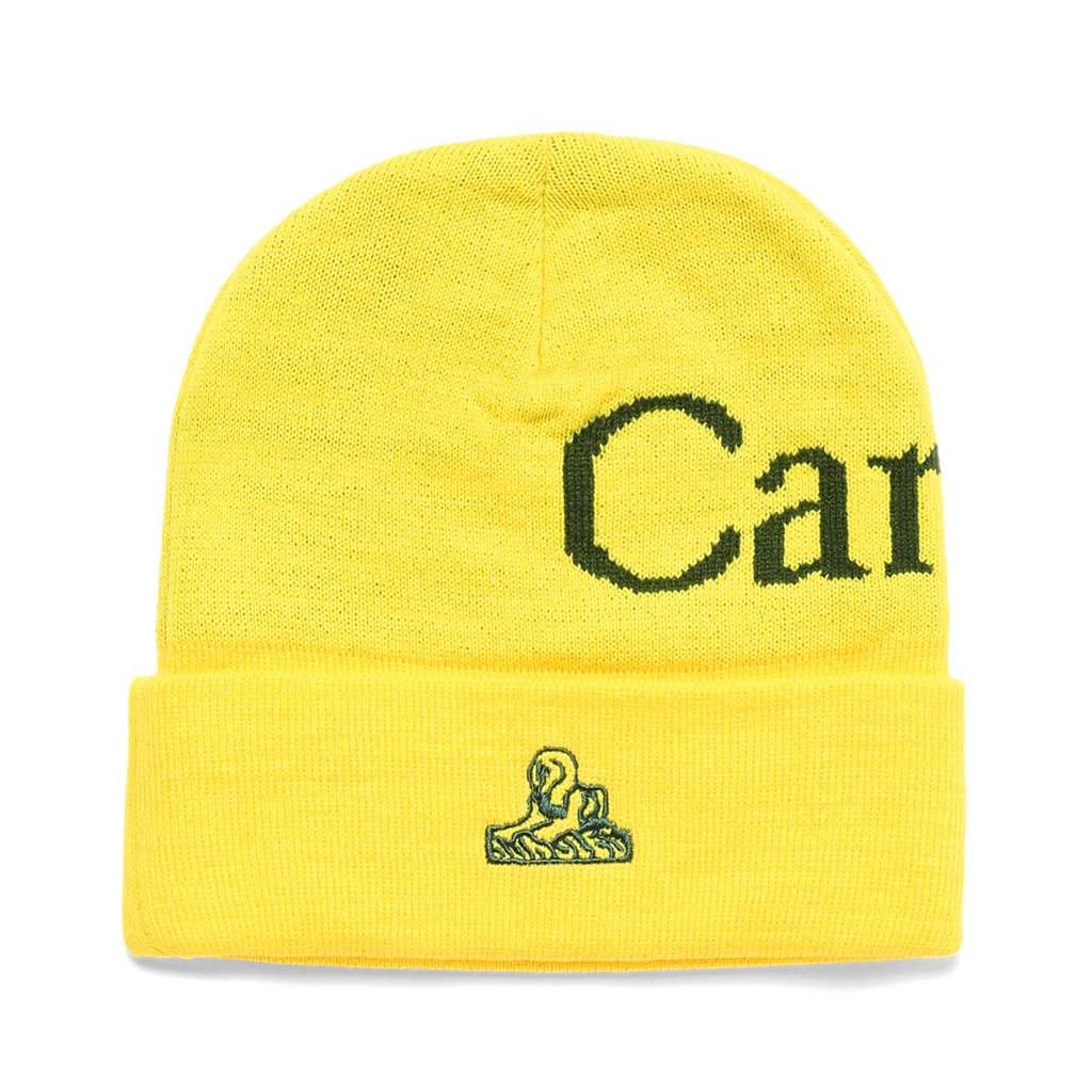 Carrots x Jungles Beanie yellow