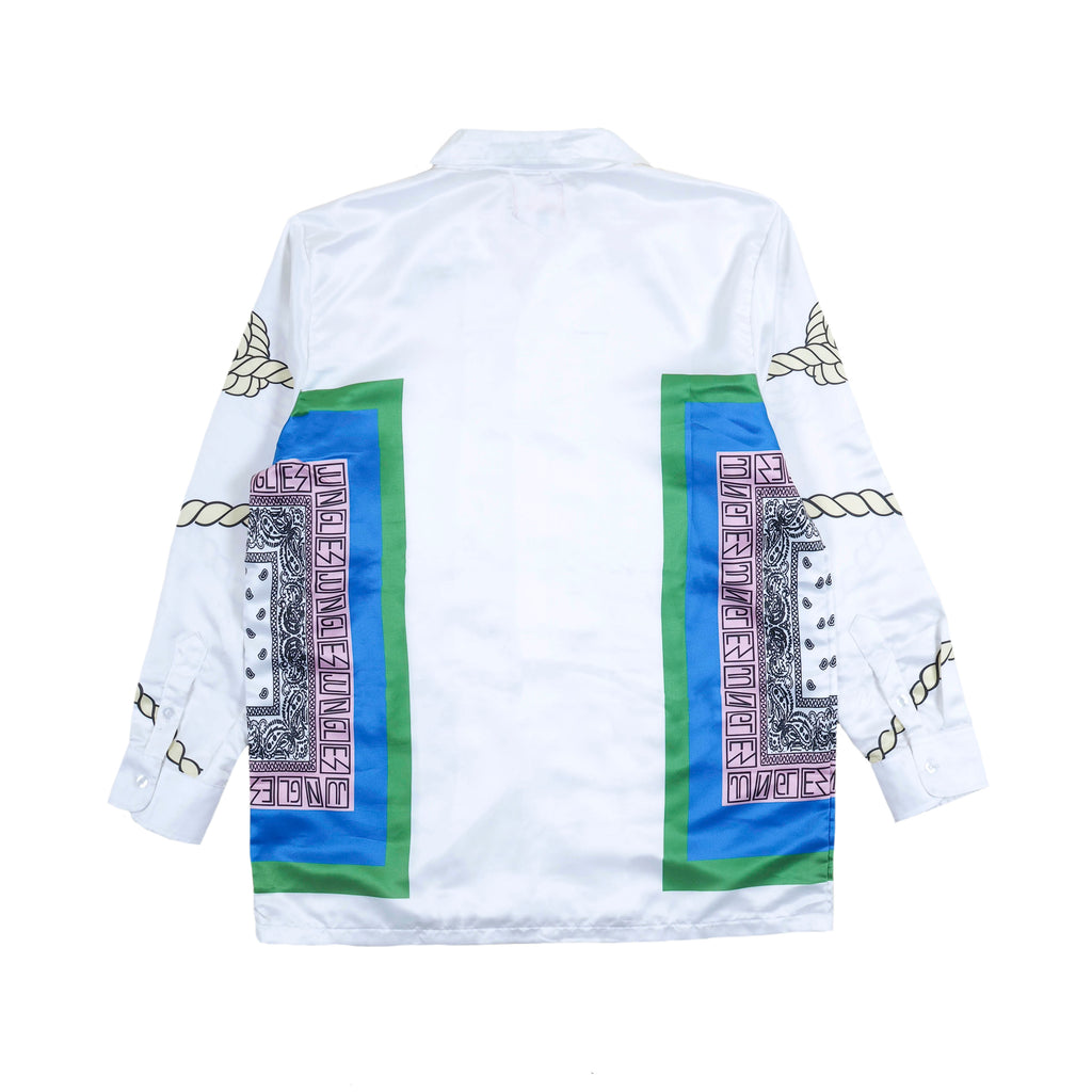 Bandana long sleeve button up