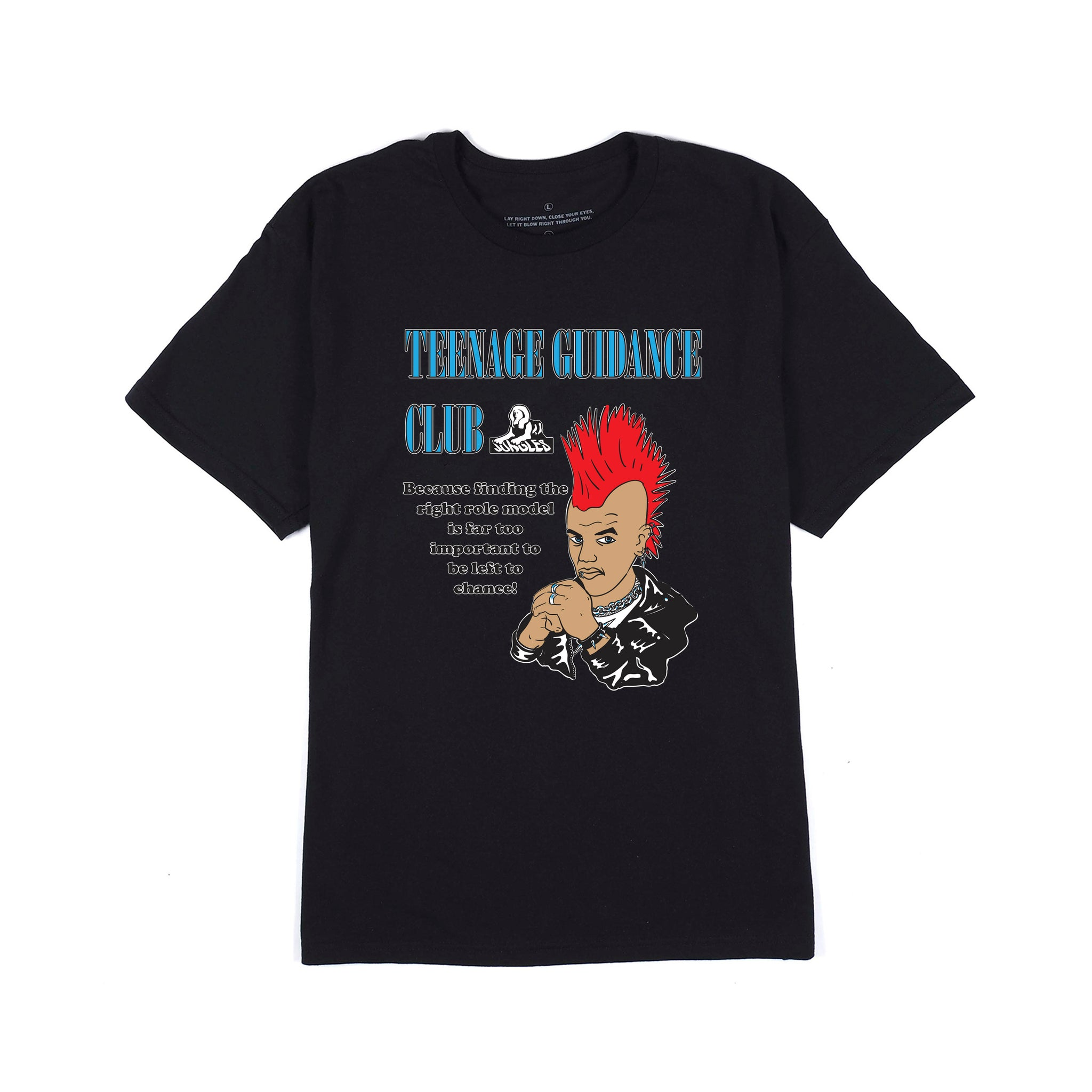 Teenage Guidance SS tee black
