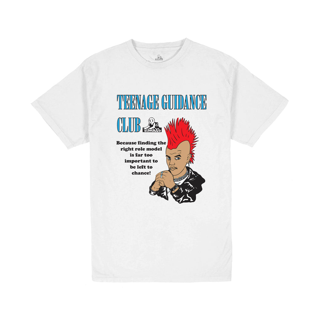 Teenage Guidance SS tee white