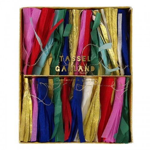 Multicolour Tassel Garland