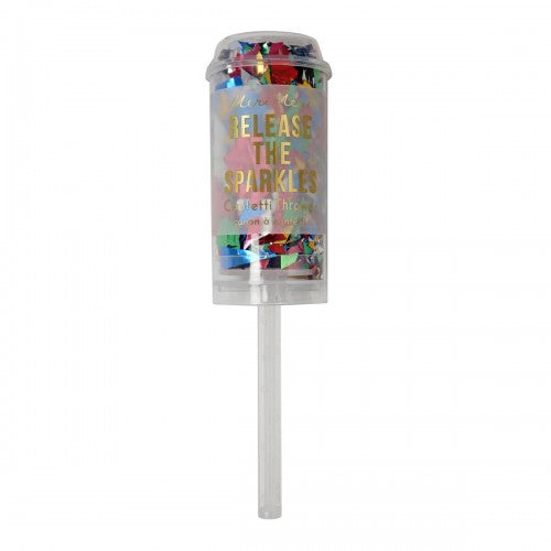Multi Colour Confetti Popper