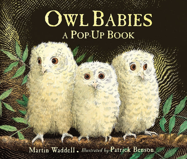 Owl Babies Pop-Up Book by Martin Waddell