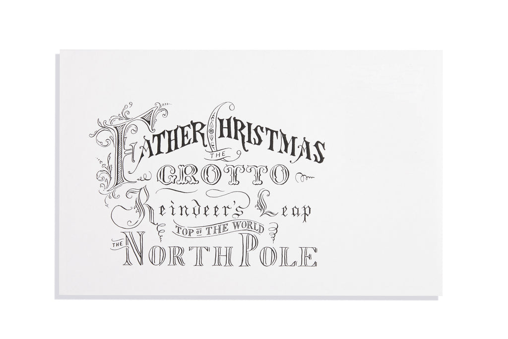 Envelope to North Pole
