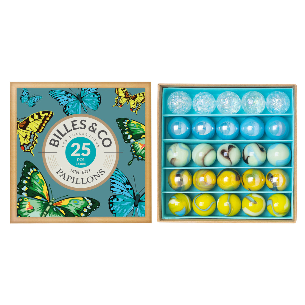 Butterfly Marbles - Billes & Co