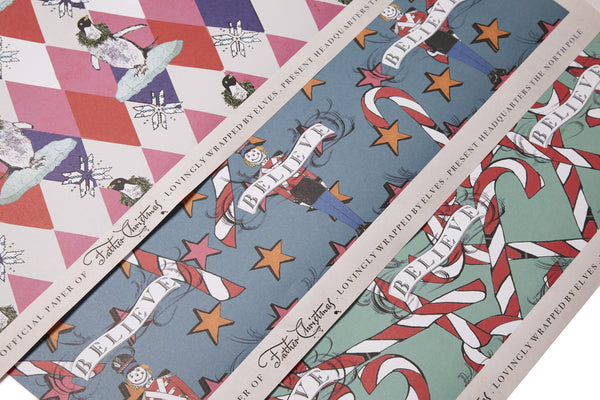 Pix n Mix Wrapping Paper