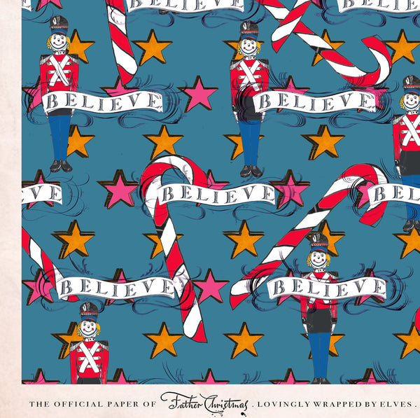 Toy Town Wrapping Paper