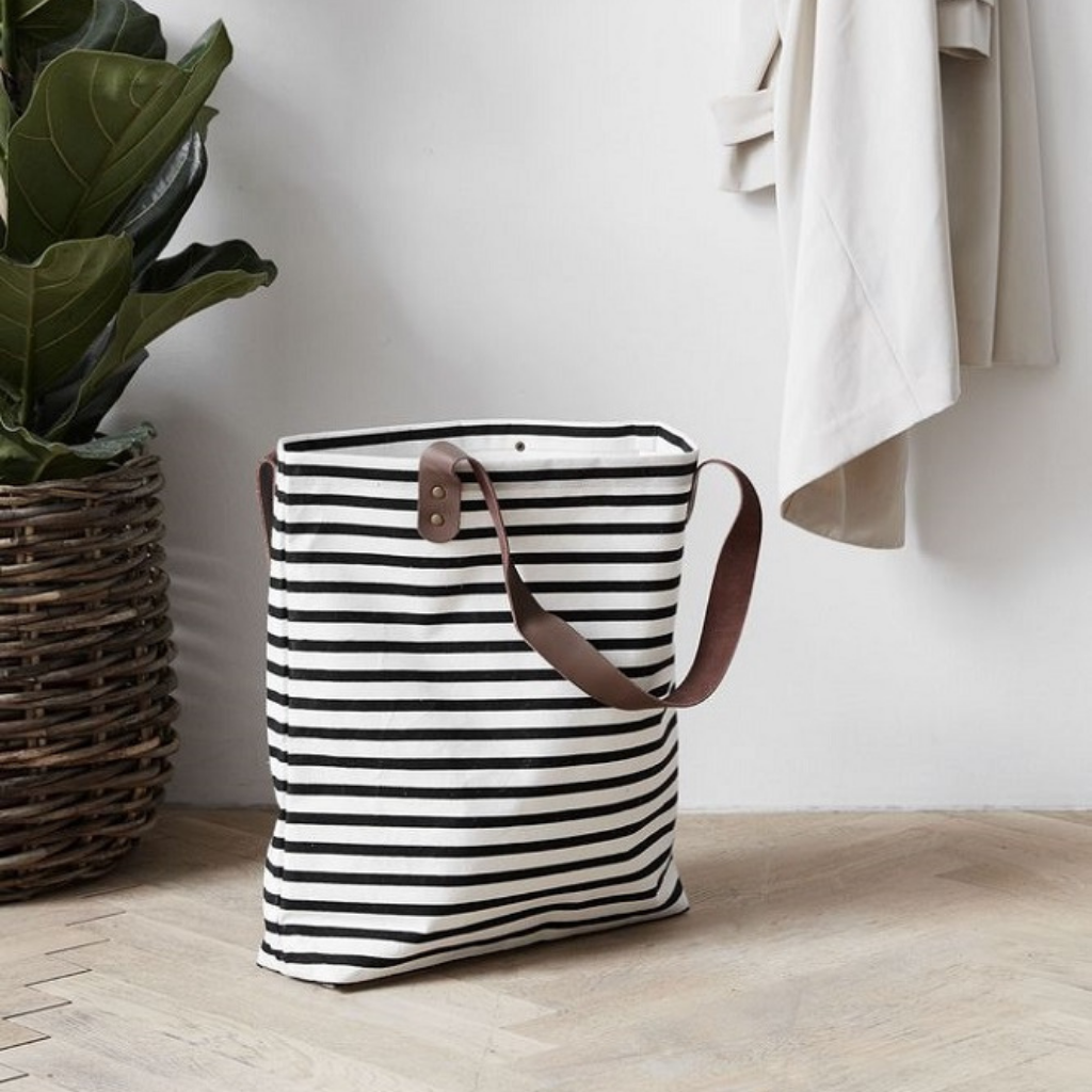 Black and white summer bag_House Doctor