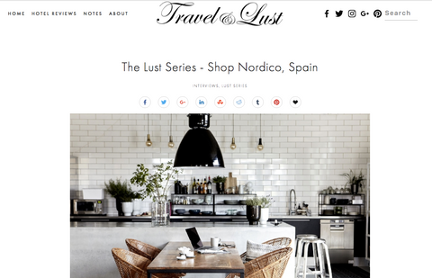 Shopnordico en Travel & Lust