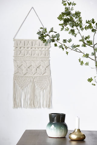 Macrame blanco shopnordico