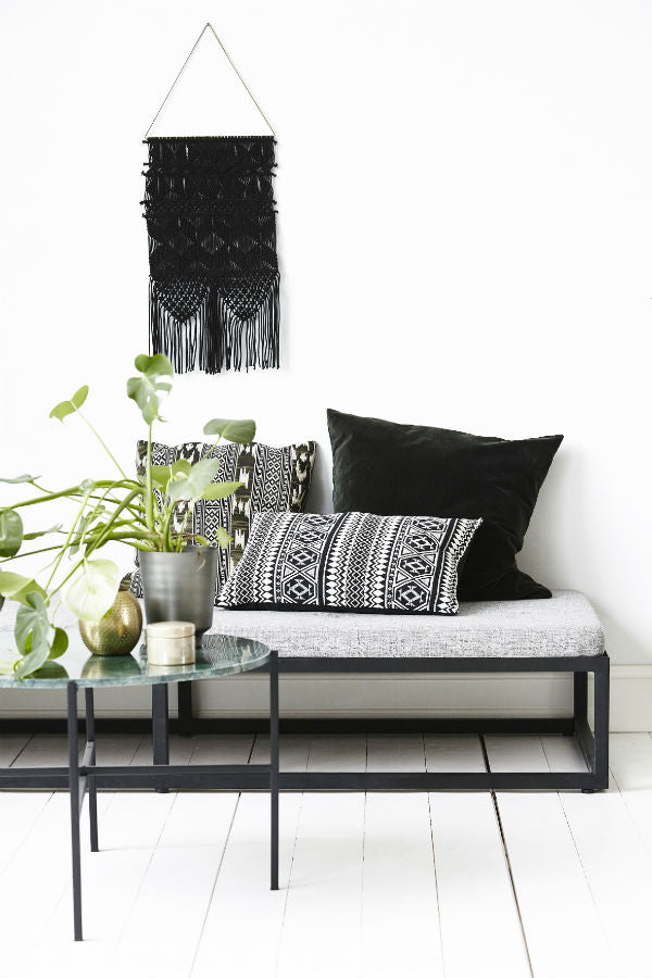 Decoración en Blanco y Negro en Shopnordico