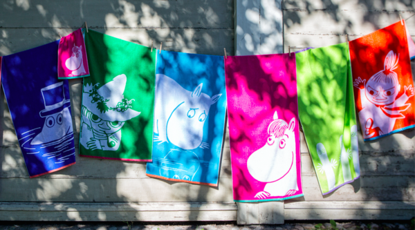 Toallas de Moomin Shopnordico