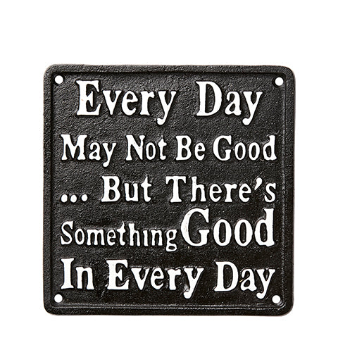 Placa de decoración:  Every Day