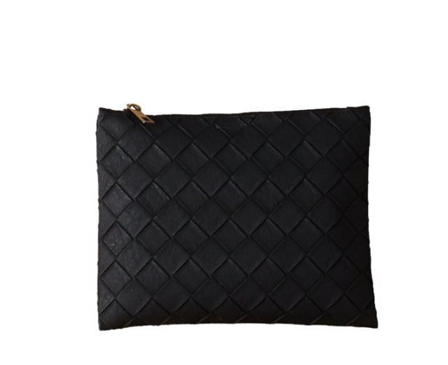 Bolso de mano negro Holly