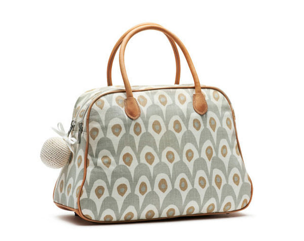 Day bag Circus -Gris/Blanco
