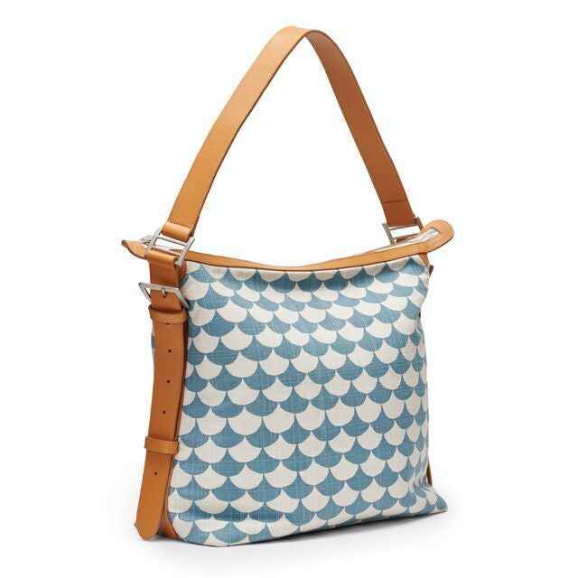 Bolso Small Waves, Azul