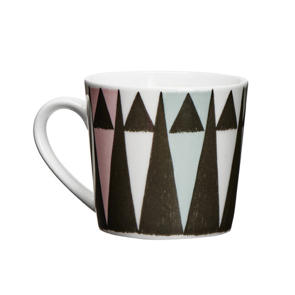 "Taza S ""Triangle"" negro/multi"