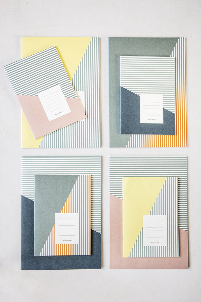 Set de 2 cuadernos A5 Stripes Combo 1