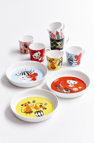 Plato de porcelana Catfun de Littlephant