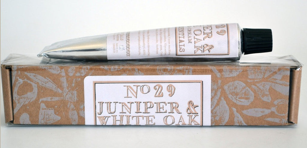 Juniper and White Oak Hand Cream