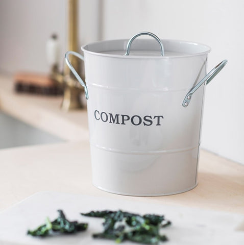 Compost Bucket in Steel