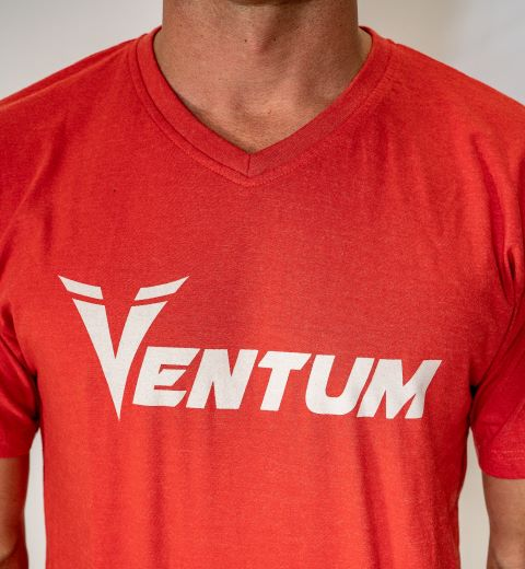 Men's VENTUM RED Logo Tee