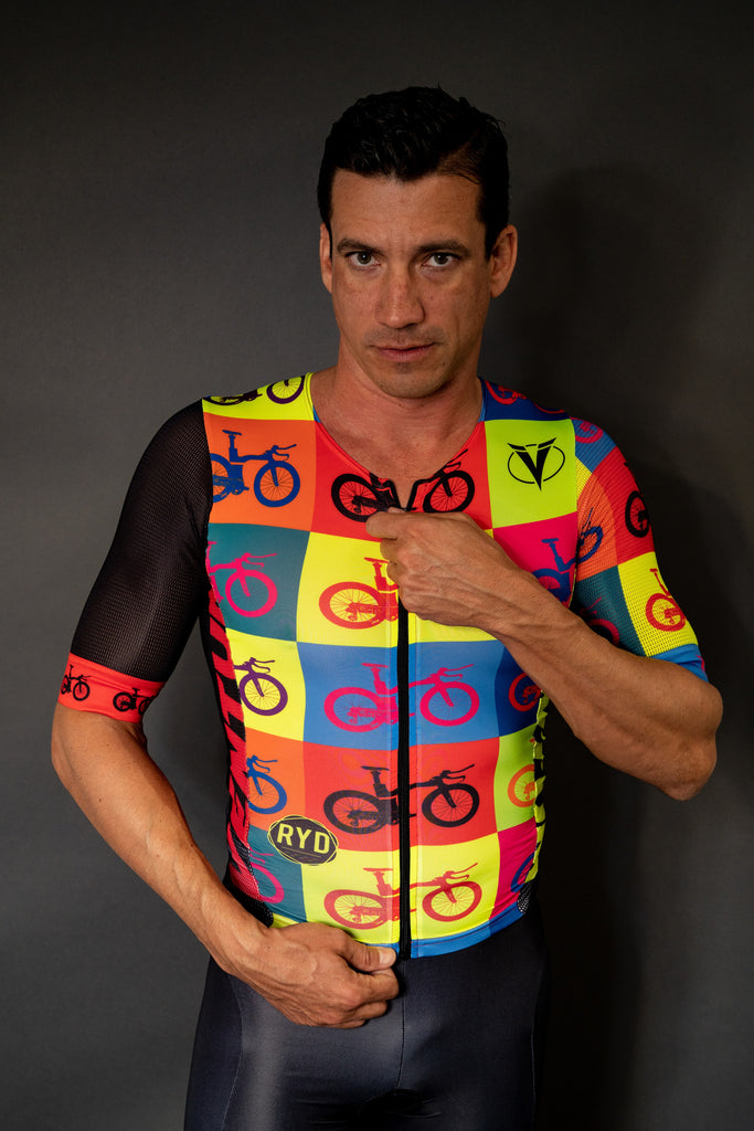 Ventum x Ryd - Pop Art Men's One Piece Triathlon Racing Kit