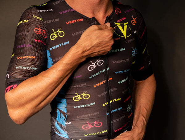 Ventum x Ryd - Neon Men's One Piece Triathlon Racing Kit