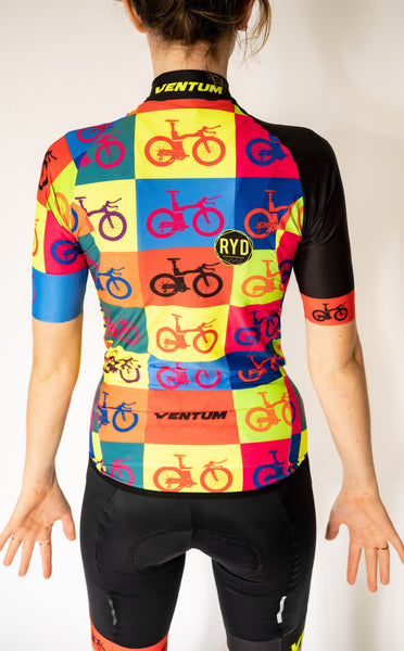 Ventum x Ryd - Pop Art Women's Aero Jersey