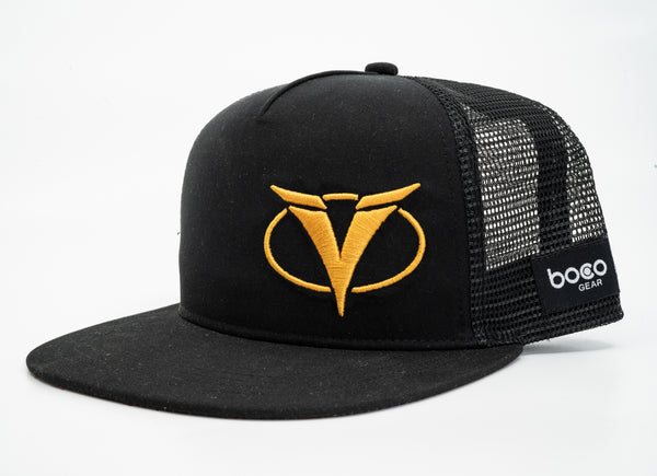 Ventum Flat Bill Hat - Gold Edition