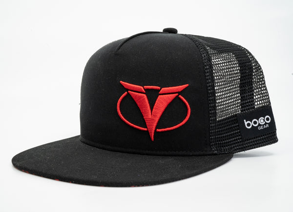 Ventum Flat Bill Hat - Red Edition