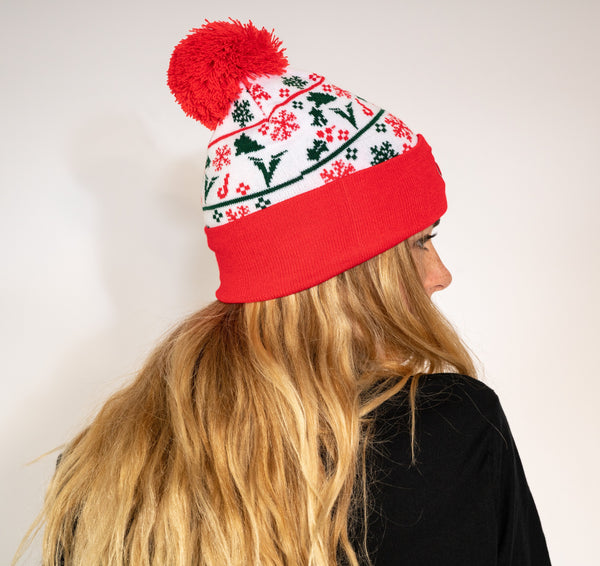 Ventum Holiday Beanie - Red
