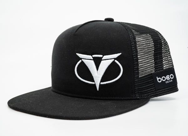 Ventum Flat Bill Hat - White Edition