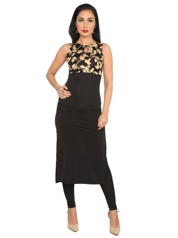 ira-soleil-black-polyester-knitted-stretchable-block-printed-sleeveless-long-womens-dress-kurti