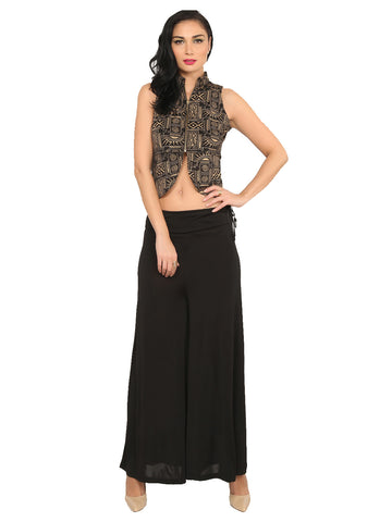ira-soleil-black-polyester-knitted-stretchable-metal-zippered-front-all-over-printed-sleeveless-jacket