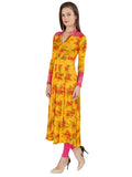 ira-soleil-black-with-yellow-floral-all-over-printed-viscose-knitted-stretchable-long-sleeves-womens-anarkali-kurti