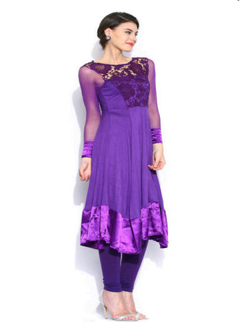ira-soleil-purple-embroidered-net-lace-viscose-knitted-stretchable-satin-long-sleeves-womens-long-anarkali-kurti