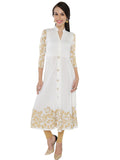 ira-soleil-white-block-printed-viscose-knitted-stretchable-3-4-sleeves-womens-anarkali-kurti
