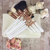 12 Piece Brush Set in pouch