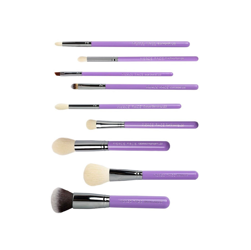 Head in the clouds luxury 9 piece brush set
