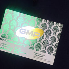 GMP gold green silver