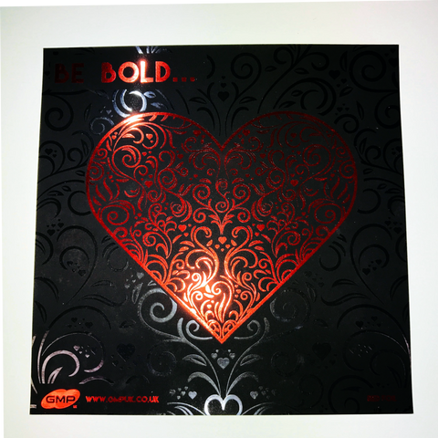 Valentines GMP Sleeking Digital Print Samples